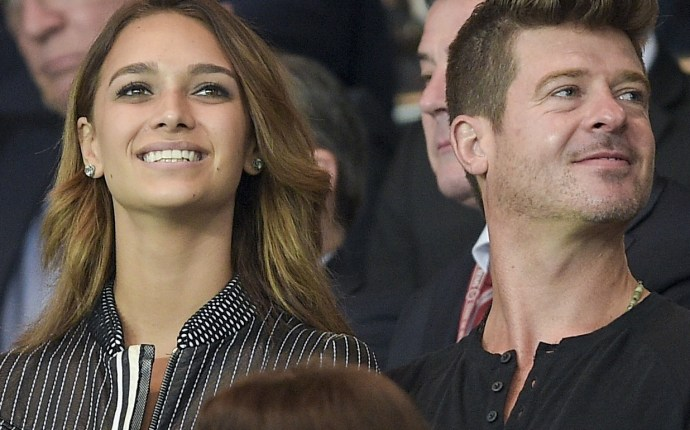 Robin Thicke Daughter EXCLUSIVE: No, This Is...