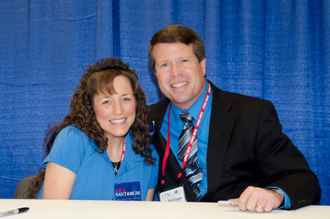 Michelle Duggar Signs Copies Of