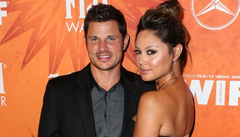 WEST HOLLYWOOD, LOS ANGELES, CA, USA - SEPTEMBER 18: Variety And Women In Film Annual Pre-Emmy Celebration 2015 held at Gracias Madre on September 18, 2015 in West Hollywood, Los Angeles, California, United States. (Photo by Xavier Collin/Image Press) Pictured: Nick Lachey, Vanessa Lachey Ref: SPL1131266 180915 Picture by: Xavier Collin/Image Press/Splash Splash News and Pictures Los Angeles:310-821-2666 New York: 212-619-2666 London: 870-934-2666 photodesk@splashnews.com