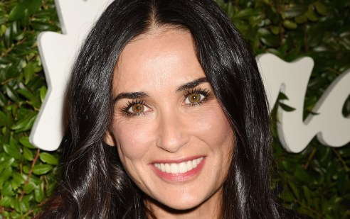 ***MANDATORY BYLINE TO READ INFPhoto.com ONLY*** Massimiliano Giornetti, Tallulah Willis, Demi Moore, Scout Willis at the Salvatore Ferragamo 100 Years In Hollywood celebration at the newly unveiled Rodeo Drive flagship Salvatore Ferragamo boutique, Beverly Hills, CA. Pictured: Demi Moore Ref: SPL1122215 100915 Picture by: INFphoto.com
