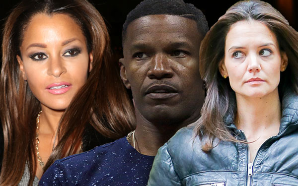Claudia Jordan backtracks Jamie Foxx Katie Holmes Relationship Confirmation Interview 1