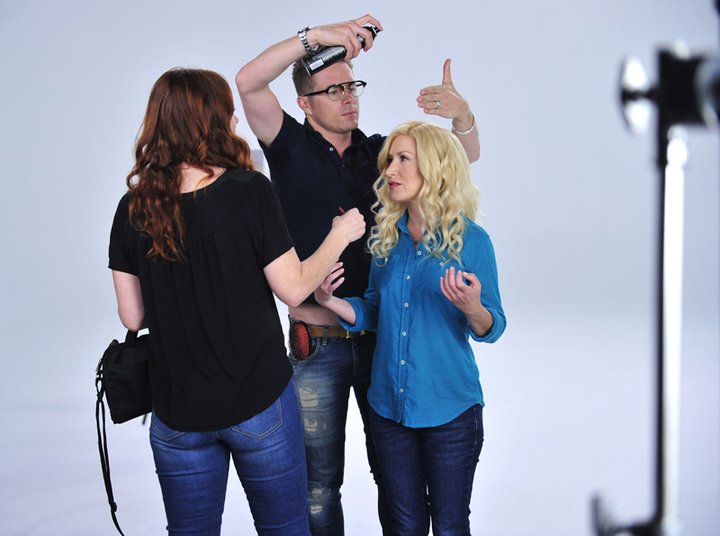 Angela Kinsey Reveals Her Own Stank Face While Shooting `Stop Stank Face,` WithTidyCats