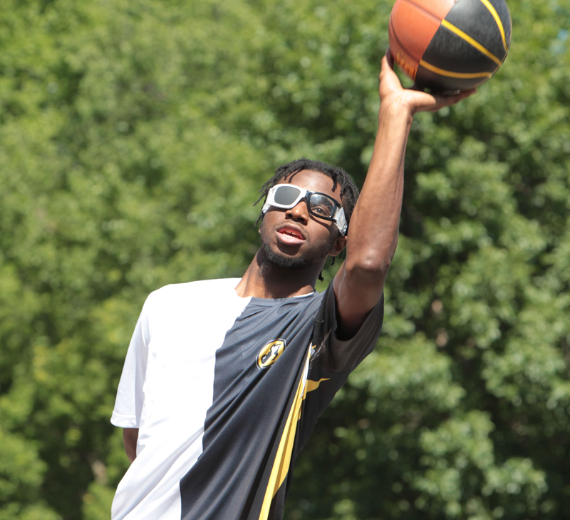 Andrew Wiggins Playing HORSE To Promote a Buffalo Wild Wings on National ChickenWingDay
