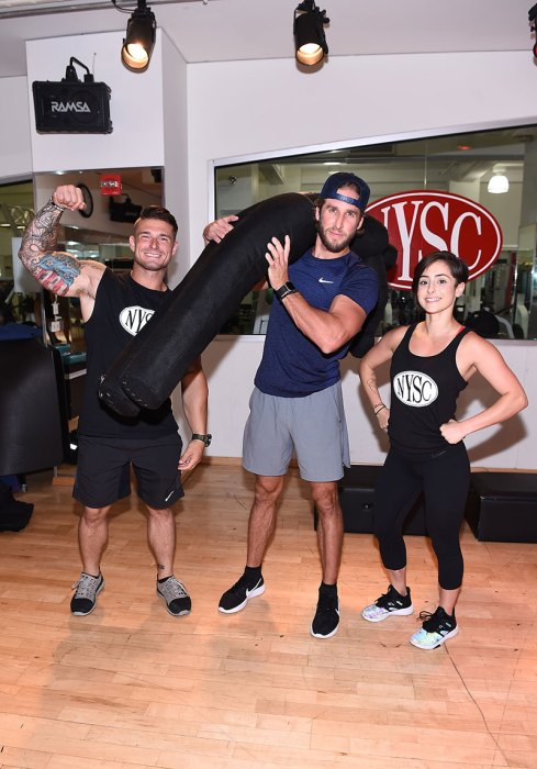 Shawn Booth Celebrates First Responders Appreciation Month At New YorkSportsClubs