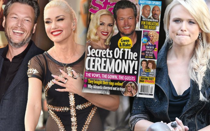 Blake Shelton Gwen Stefani Married Wedding Proposal Secrets 1