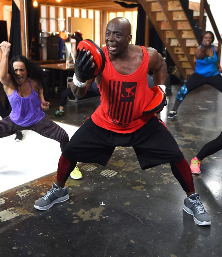 Billy Blanks Shooting New Workout Videos ForHisWebsite