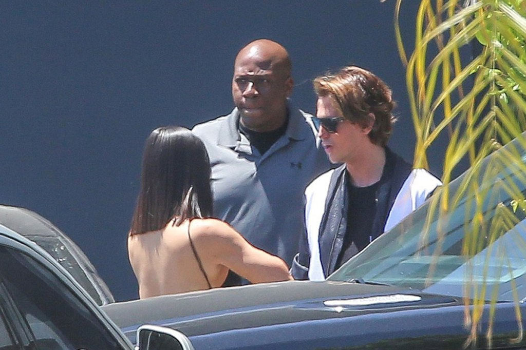 Kim Kardashian Filming KUWTK Jonathan Cheban Butt Scandal Video