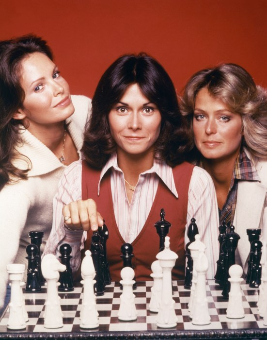 CHARLIE'S ANGELS 1976 TV