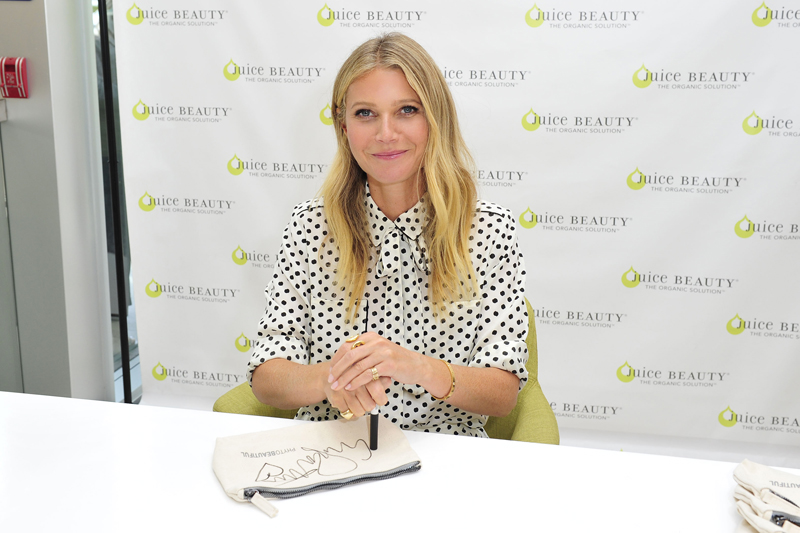 Gwyneth Paltrow Introduces Organic makeup Line At Ulta Beauty