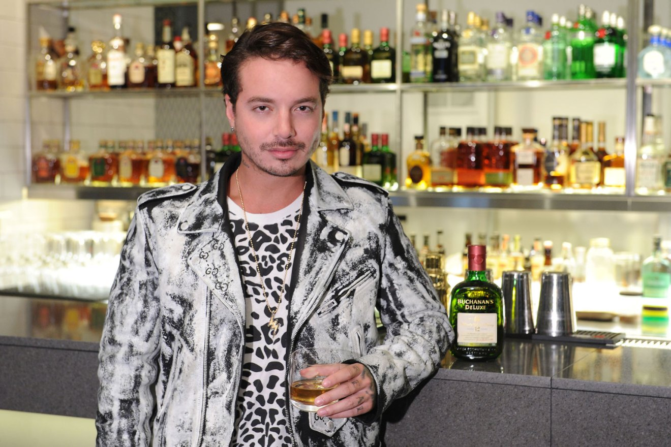 J Balvin At the Launch of Buchanan`s Scotch Whisky`s Campaign `Es Nuestro Momento`