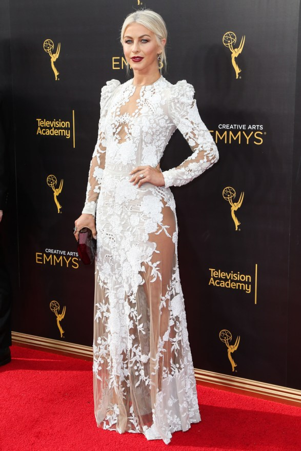 Julianne Hough arrives at the 2016 Creative Arts Emmy Awards – Day 2