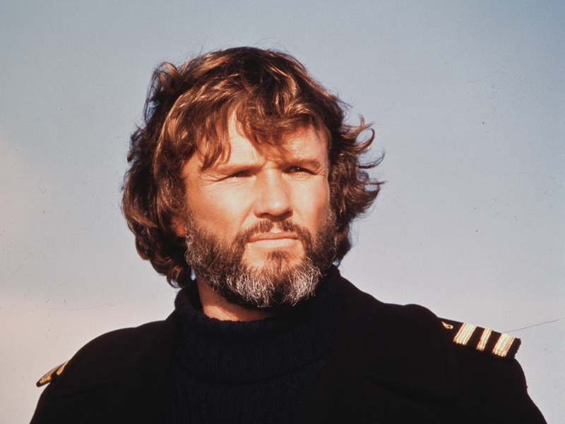 Portrait of Kris Kristofferson