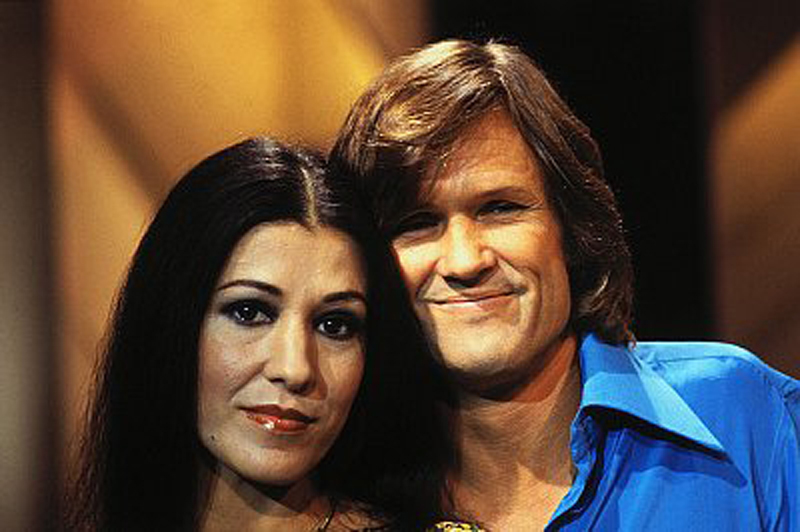 Kris Kristofferson and His Spouse Rita Coolidge
