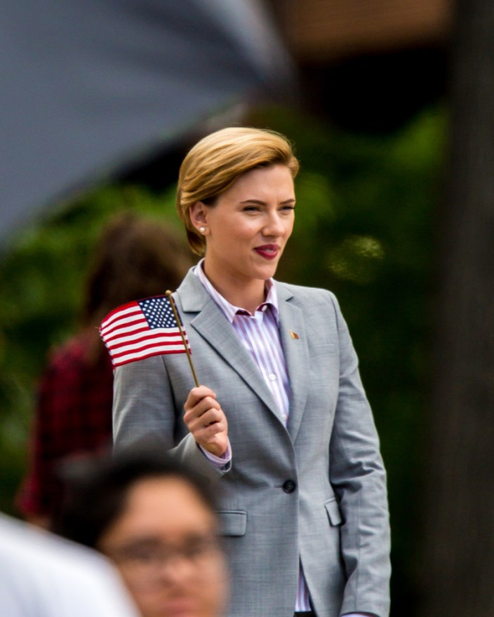 Scarlett Johansson Seen Filming 'Rock That Body' In Upstate New York