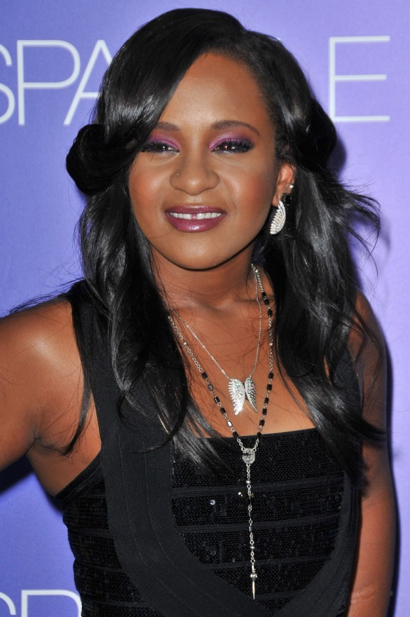 **FILE PHOTOS** Bobbi Kristina Brown hospitalized after being reportedly found unresponsive in tub