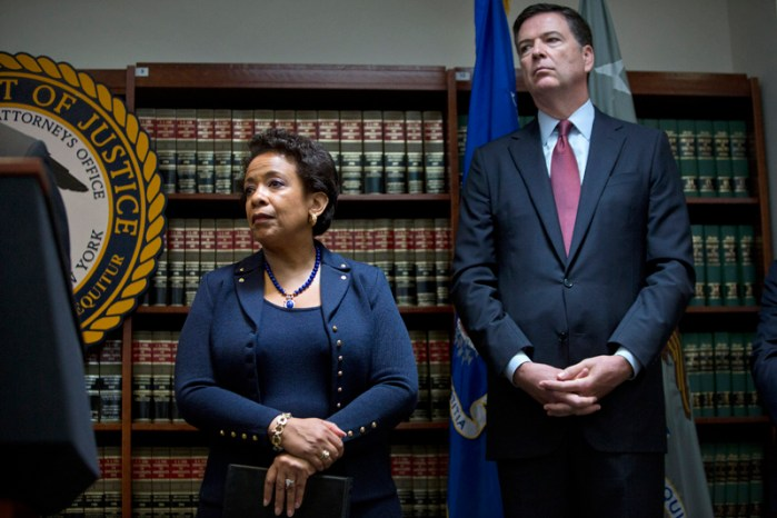 U.S. Attorney General Loretta Lynch News Conference On FIFA Corruption Charges
