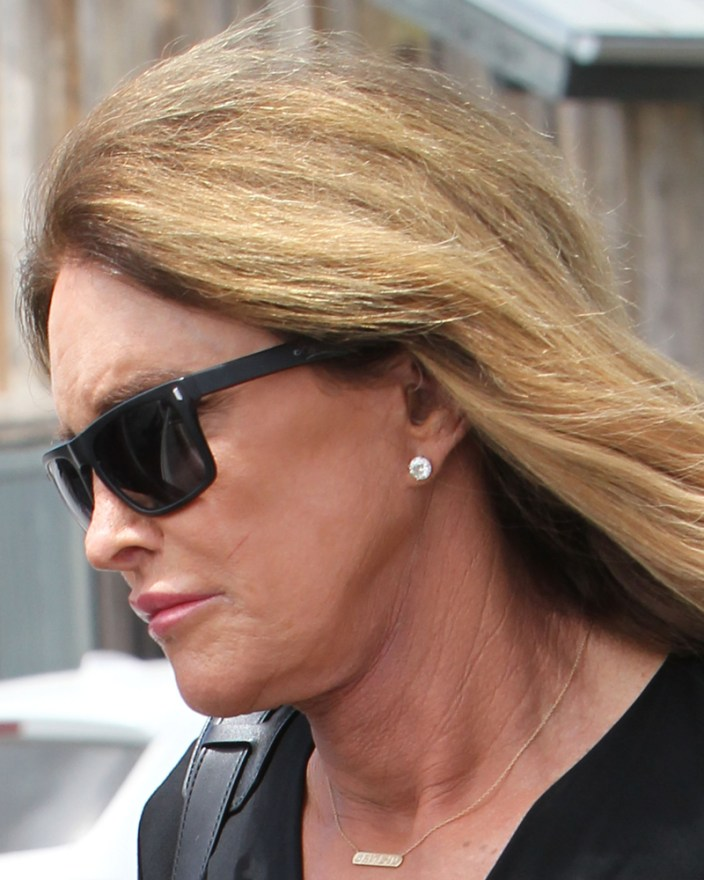 Caitlyn Jenner Wears Hearing Aid on Trip To Supermarket in Malibu
