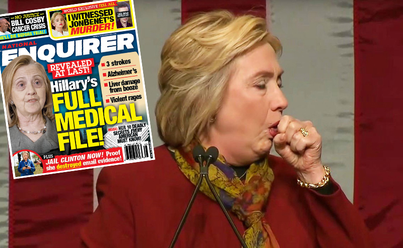hillary clinton health issues national enquirer 3