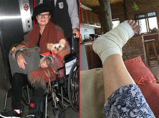 Susan Sarandon — Caught In A Wheelchair thumbnail