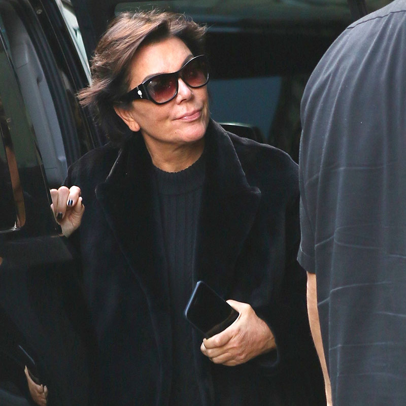 Kris Jenner and Corey Gamble rush to Kim's side in wake of armed robbery in Paris