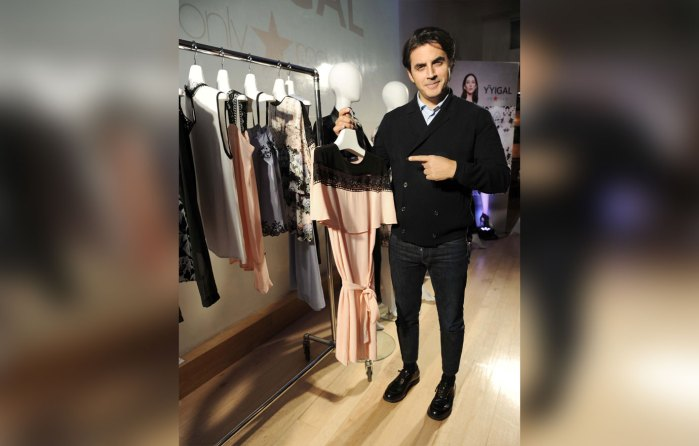 Yigal Azrouel celebrates the launch of YYigal, available exclusively at Macy`s.