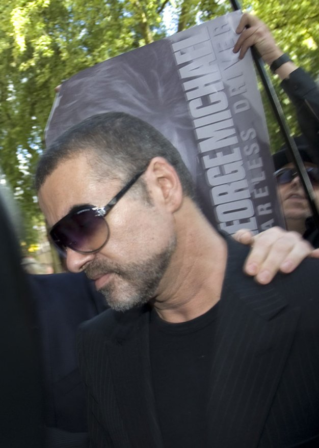 George Michael In Court