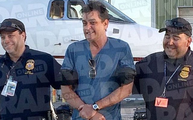 charlie sheen drug bust claims