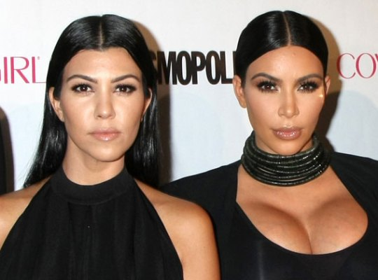 Kim & Kourtney Kick Out Kids For Private Coloring Session thumbnail