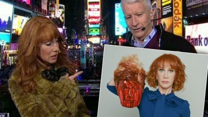Kathy Griffin Fired From CNN Over Trump 'Beheading' thumbnail