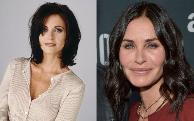 courteney cox plastic surgery disaster