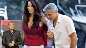 George Clooney: Fatherhood Killing Worn-Out Star thumbnail
