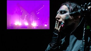 WATCH: Marilyn Manson Crushed By Stage Prop thumbnail