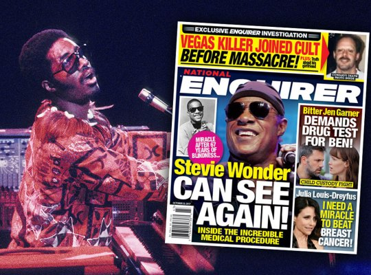 Stevie Wonder — 'Blind' Superstar Can See thumbnail