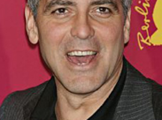 CLOONEY PUCKERS UP FOR CHARITY thumbnail