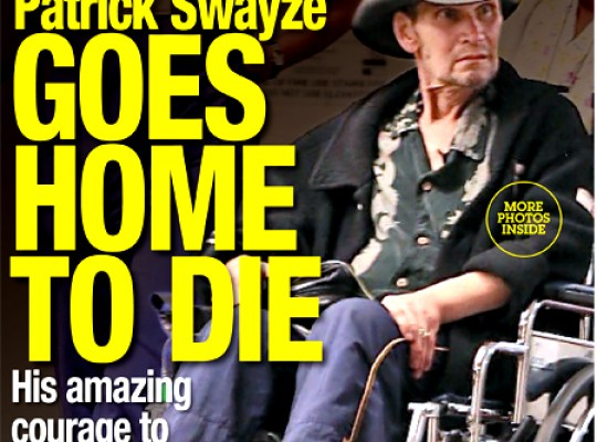 SWAYZE GOES HOME TO DIE thumbnail