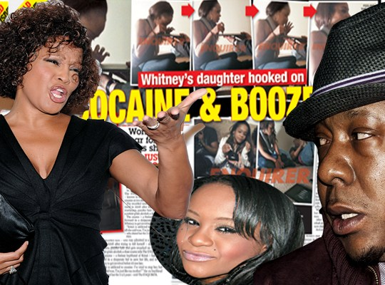 WHITNEY FORCES COKE-Y DAUGHTER BOBBI TO REHAB thumbnail