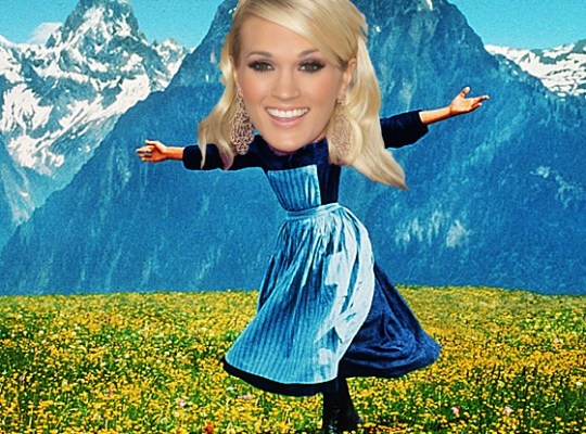 CARRIE UNDERWOOD VON TRAPPED thumbnail