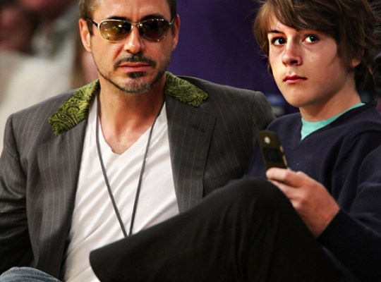 EXCLUSIVE! NEW FEARS FOR ROBERT DOWNEY JR. SON thumbnail