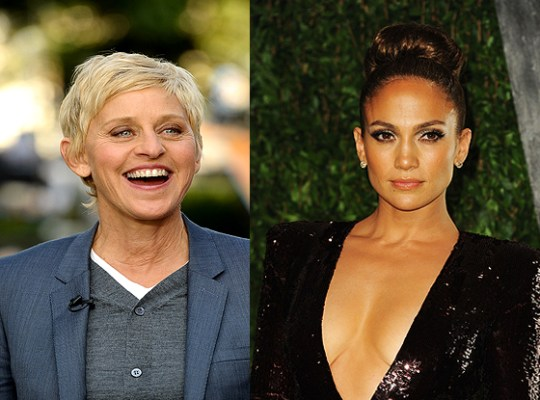 J.LO BEEFY FAUX PAS WITH ELLEN thumbnail