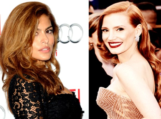 EVA MENDES BITTER WAR WITH JESSICA CHASTAIN thumbnail