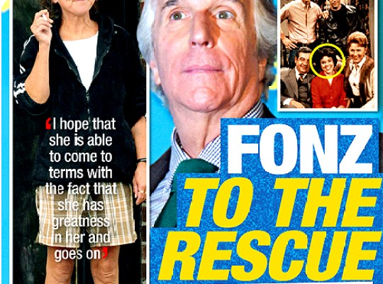 HOMELESS ERIN MORAN: THE FONZ TO THE RESCUE! thumbnail