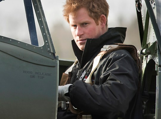 "Randy Prince Harry Offers Gals ""Naughty"" Snack! thumbnail"