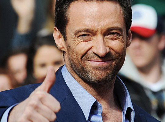 Stop stalling around, JACKMAN  – Slip me 'Les' autograph NOW!! thumbnail