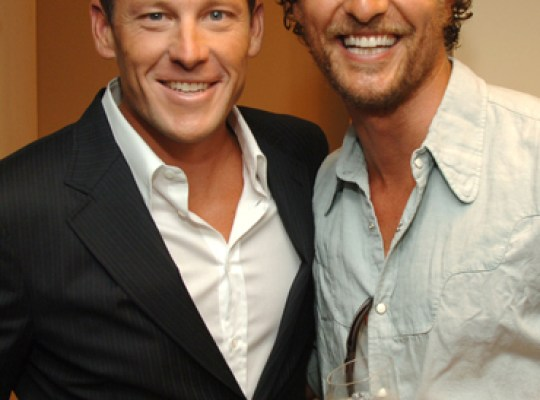MATTHEW MCCONAUGHEY: DON'T PICK ON LANCE ARMSTRONG! thumbnail