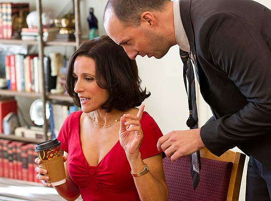 JULIA LOUIS-DREYFUS: hush-hush VEEP SECRET thumbnail