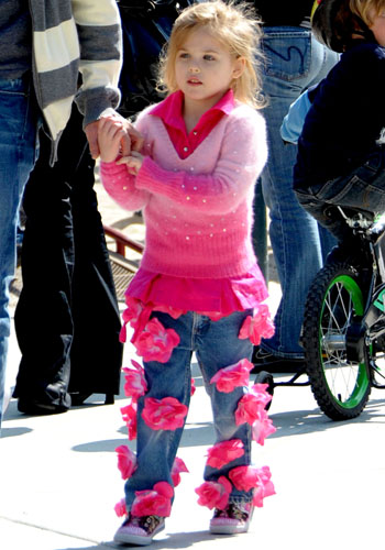 Anna Nicole Smith and Larry Birkhead's daughter Dannielynn