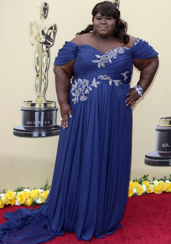 Nominee Gabourey Sidibe