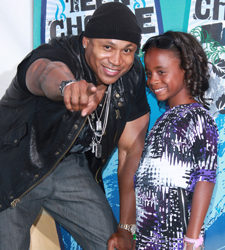 LL Cool J and his daughter