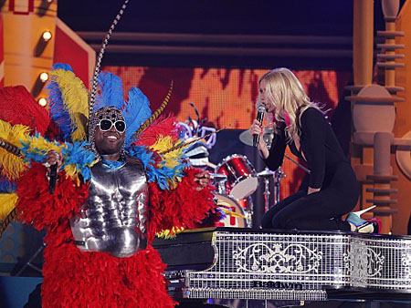 Cee Lo and Gwenyth Paltrow