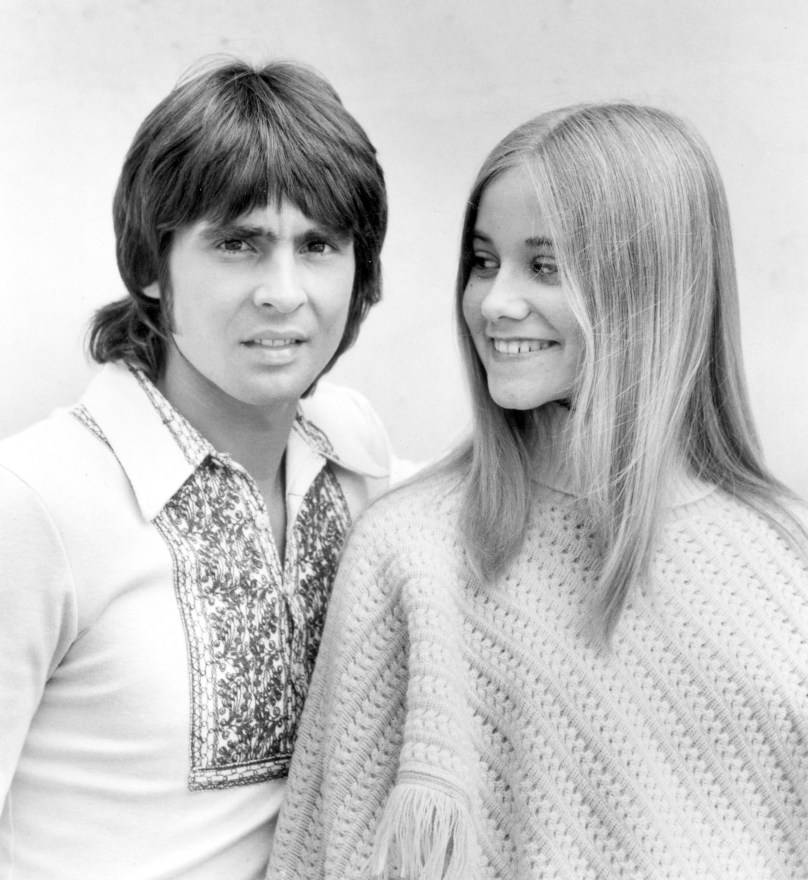 Davy appeared on <I>The Brady Bunch</i> alongside Maureen McCormick in 1971.